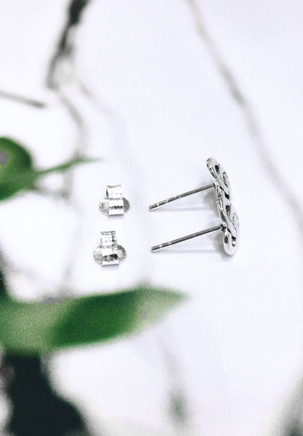 Traditional Trinity Knot Studs