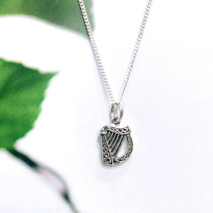 Sterling Silver Traditional Small Harp