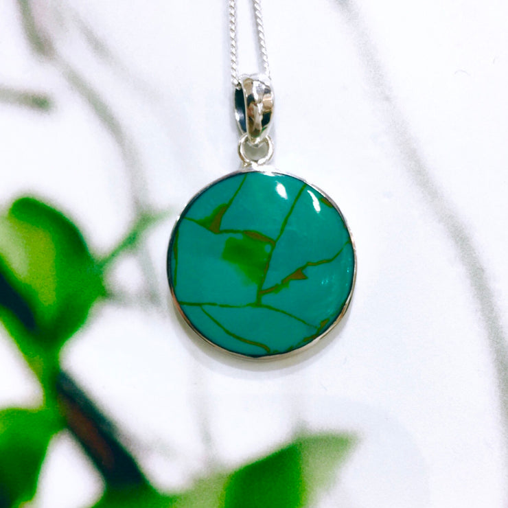 Sterling Silver Turquoise Tree Of Life