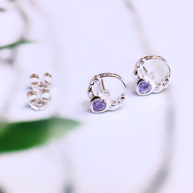 June Birthstone Studs