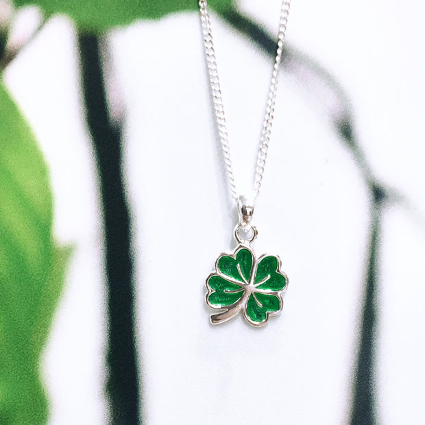 Sterling Silver Four-Leaf Clover