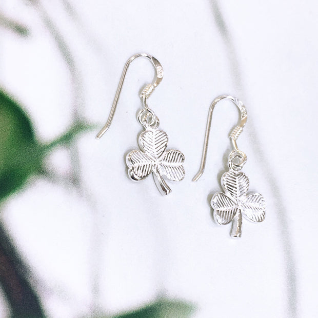 Sterling Silver Shamrocks