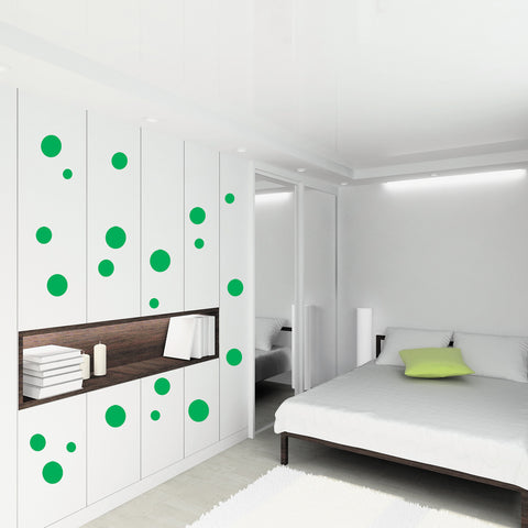 Art Deco Spots Wall Stickers