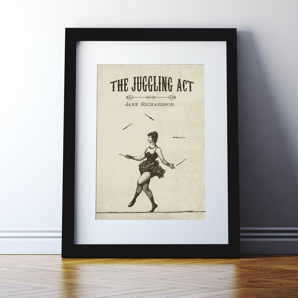 Personalised 'Juggling Act' Print
