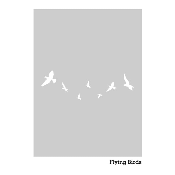 Flying Birds Dry Apply Window Film