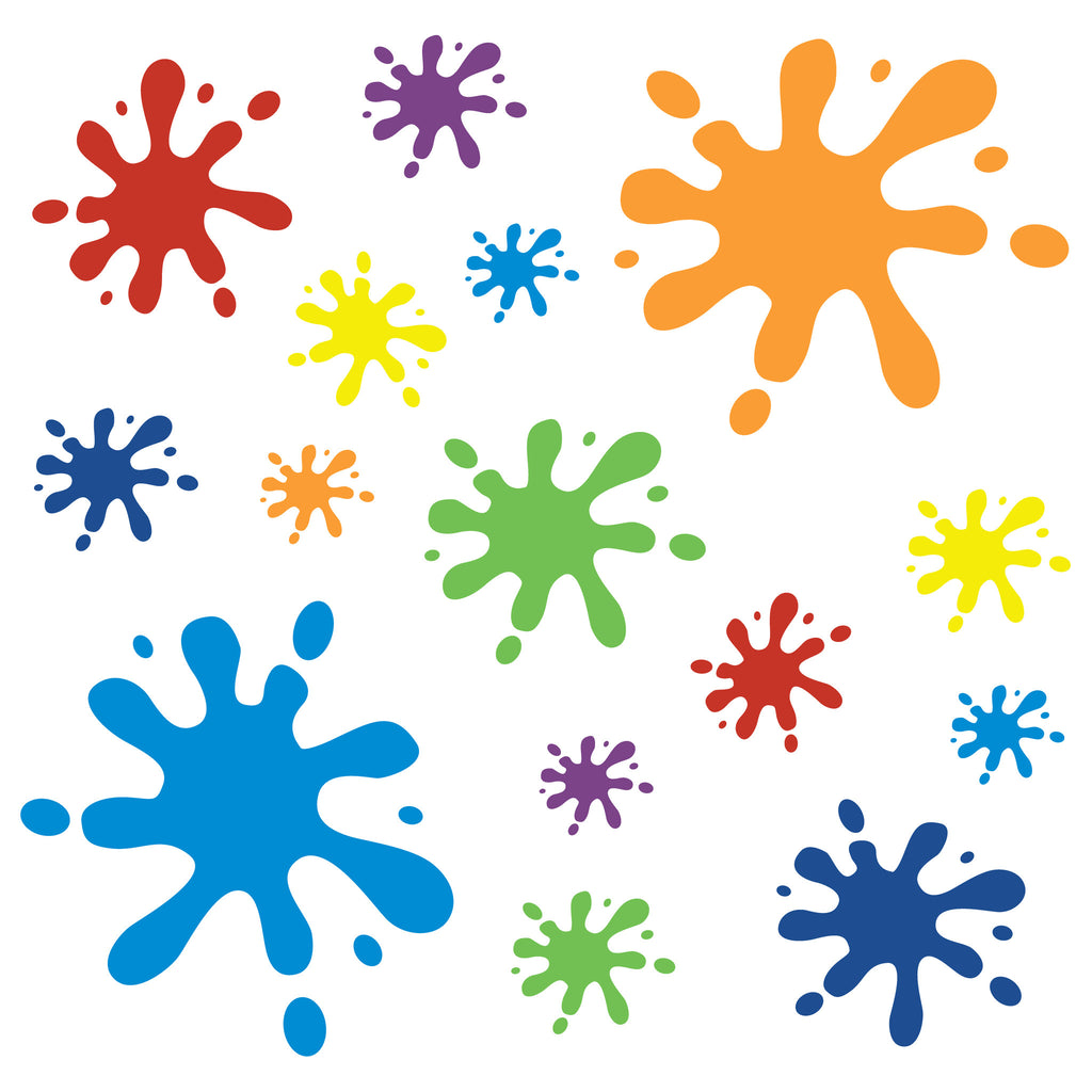 Paint Splat Wall Stickers