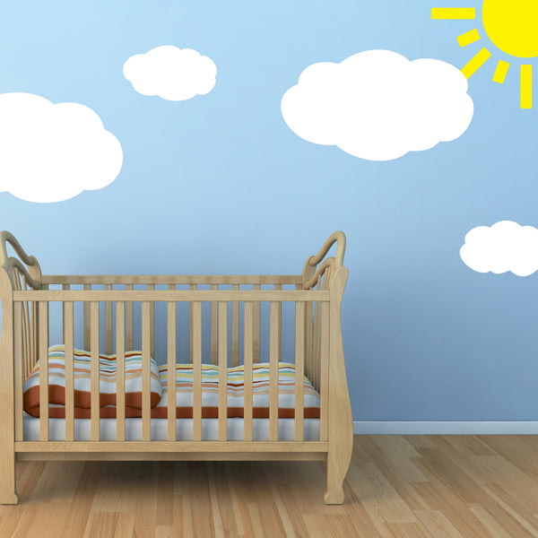 Cloud Wall Sticker Set