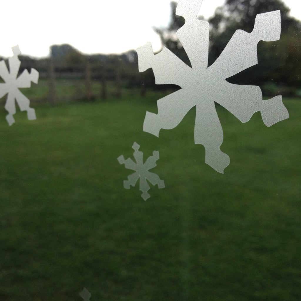 Snowflake Window Film Stickers