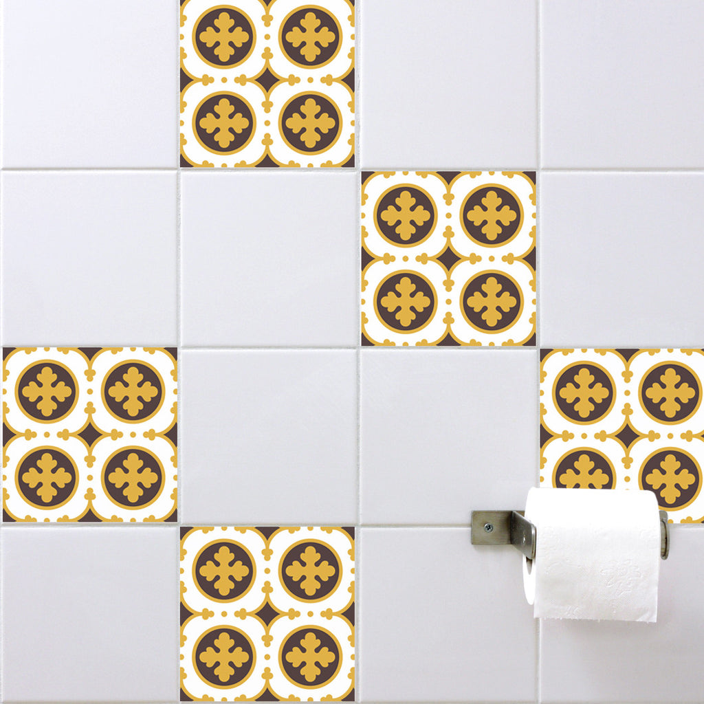 Retro Tile Stickers