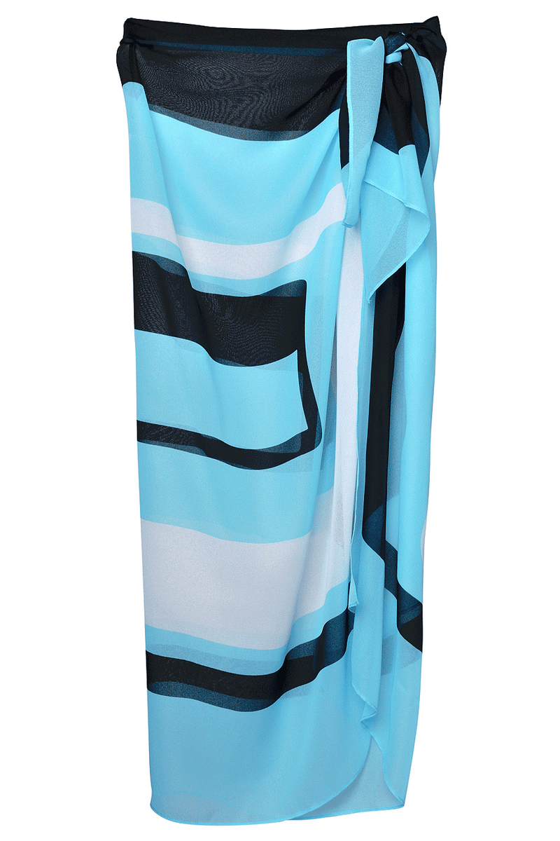 GOTTEX GEOMETRY Turquoise Cover Up