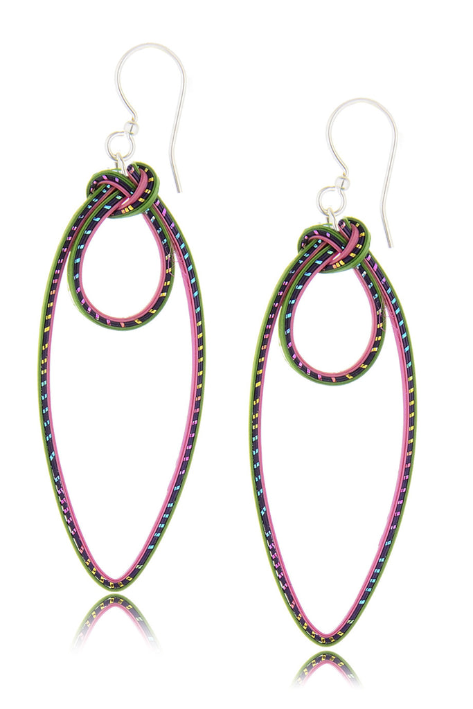 AGATHA TERRELL - CELESTYN Braided Bamboo Earrings - Jewelry