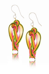 AGATHA TERRELL - EVELINE Braided Bamboo Earrings - Jewelry