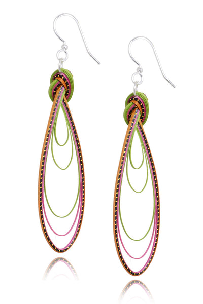 AGATHA TERRELL - MOLY Braided Bamboo Earrings - Jewelry