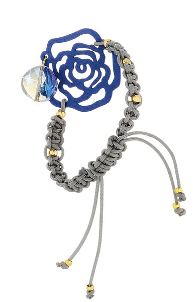 ALBERTO GALLETI ROSE Indigo Crystal Woman Bracelet