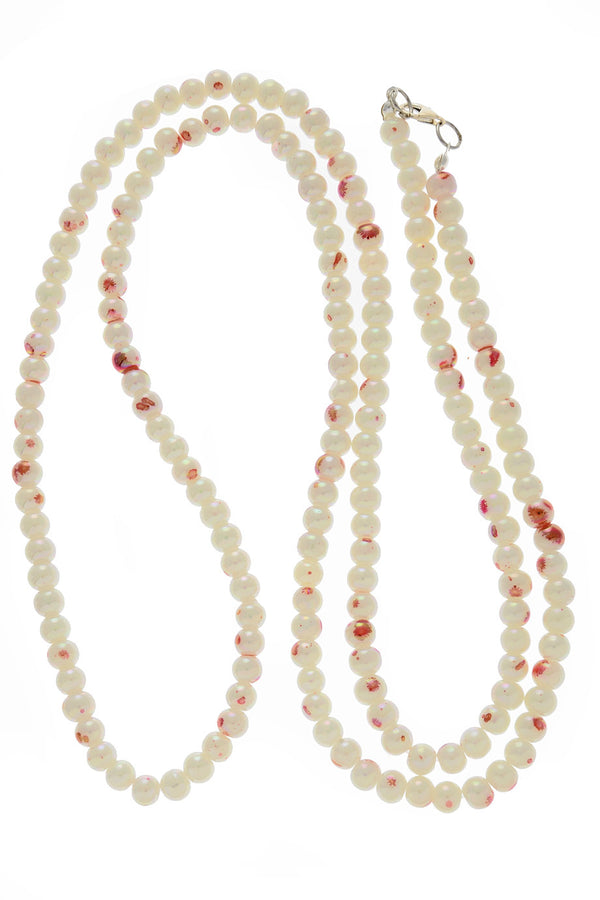 ALBERTO GALLETI SPLASH Cherry Pearl Necklace