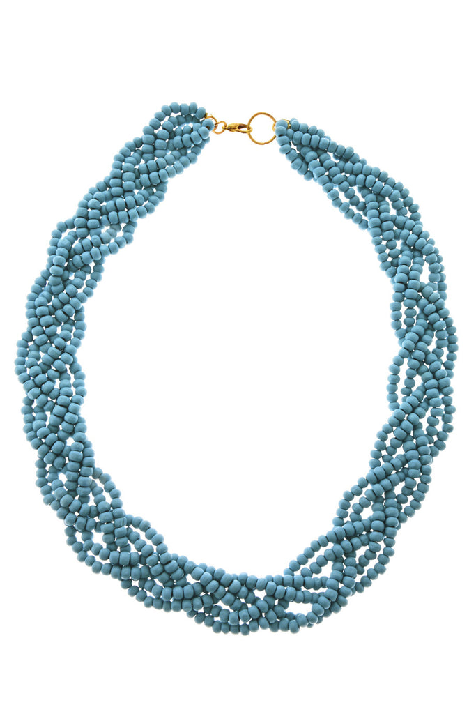 ALBERTO GALLETI VIOLCA Turquoise Beads Necklace