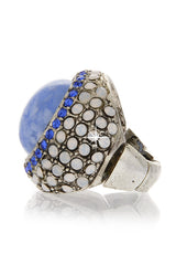 ANDREA MADER APHRODITE Ocean Blue Ring