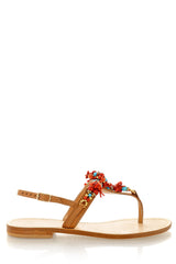 ANGELO VALENTE SHIELA Crystal Sandals