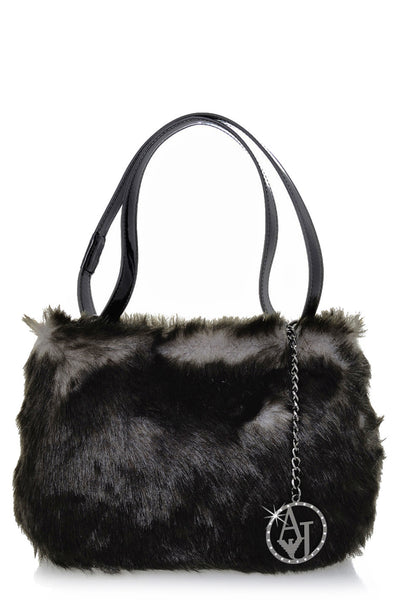 GIUDITTA Grey Fur Bag