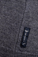 ARMANI JEANS ROBIN Grey Knitted Jumper