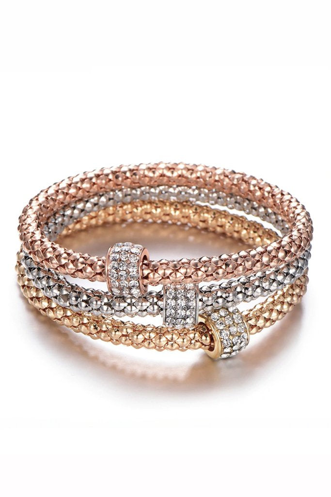 Bracelets Set in Gold Silver and Rose Gold | Jewelry - Bracelets Pasquette
