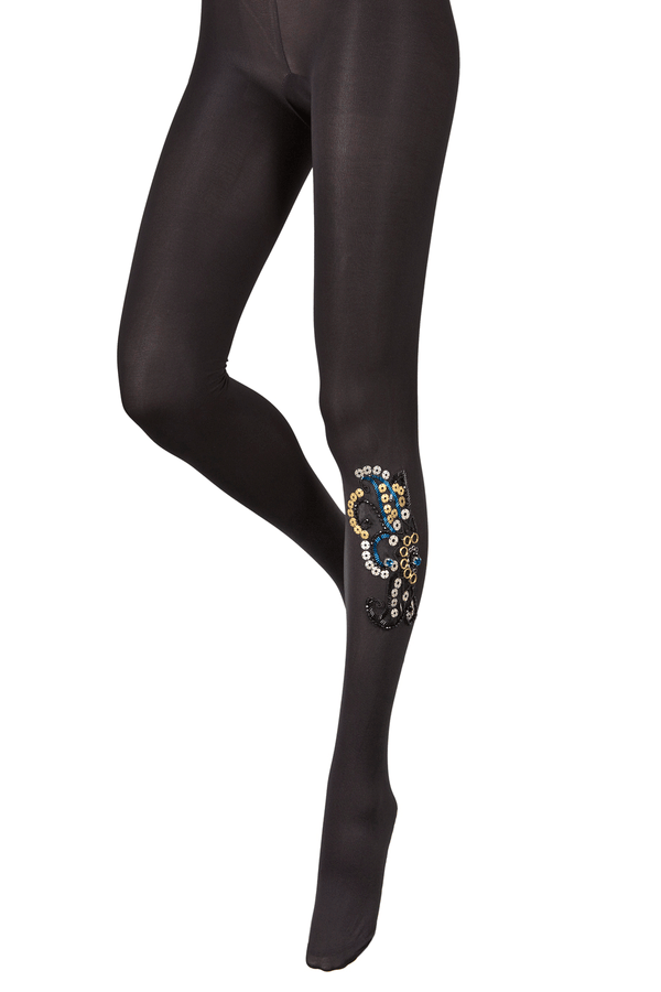 BEBAROQUE ALEXANDRA Black Tights