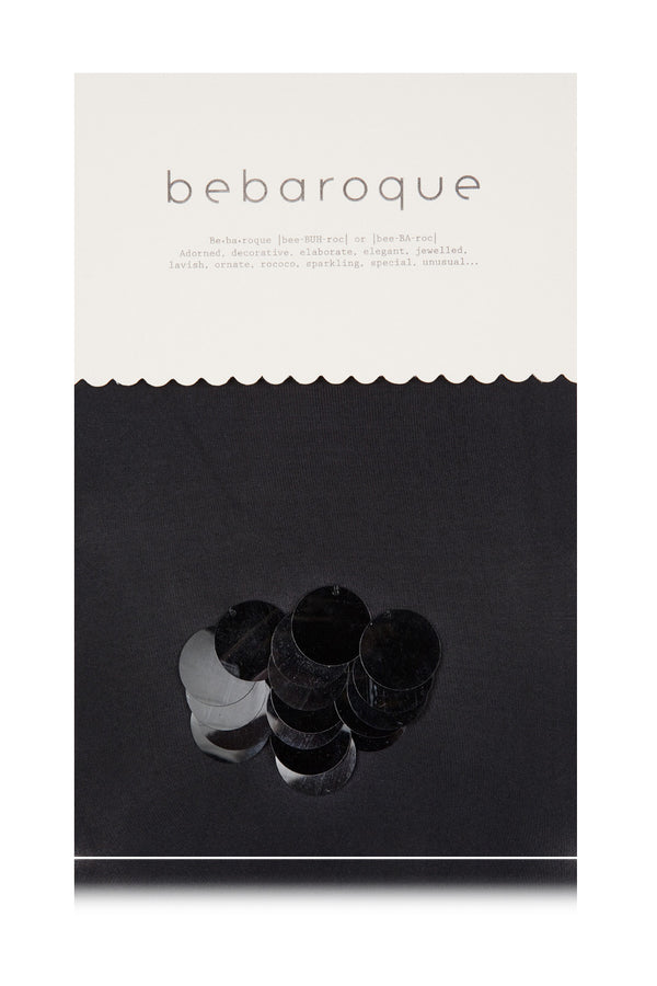 BEBAROQUE DOLLY Black Tights