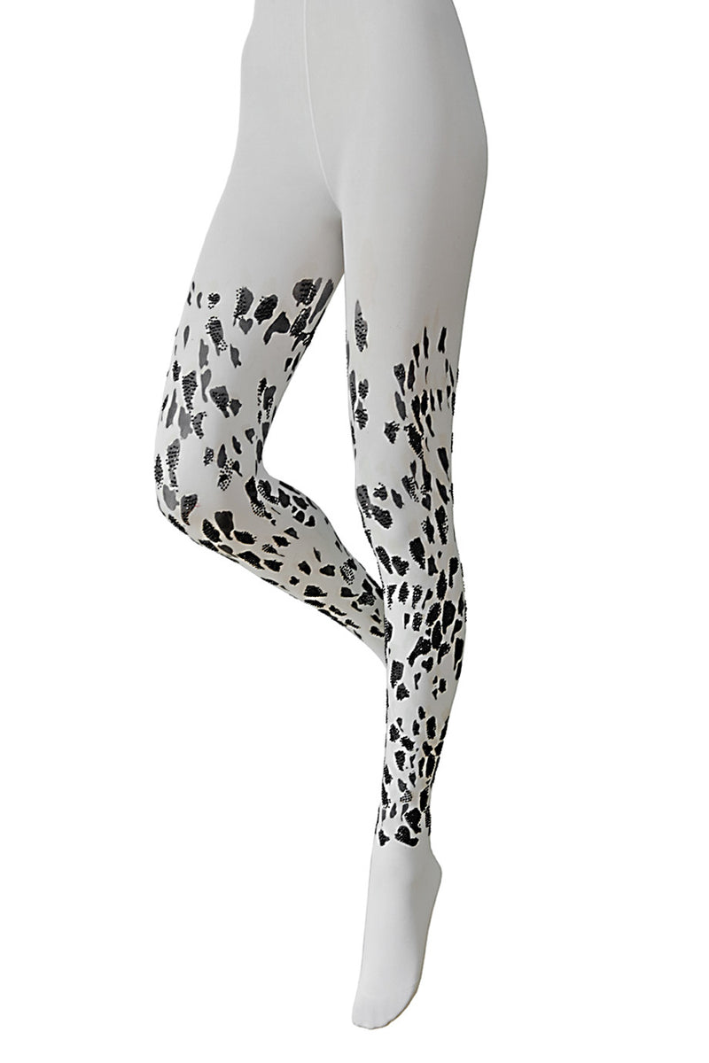 BEBAROQUE DOTTY Cream Tights
