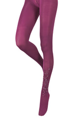 BEBAROQUE EVA Plum Tights