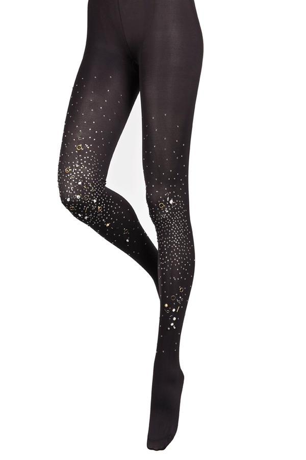 BEBAROQUE PETRA LUX Black Tights