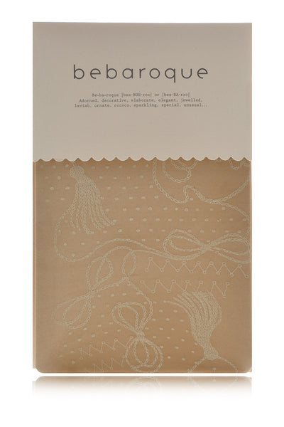 BEBAROQUE TAFFEY Printed Nude Tights