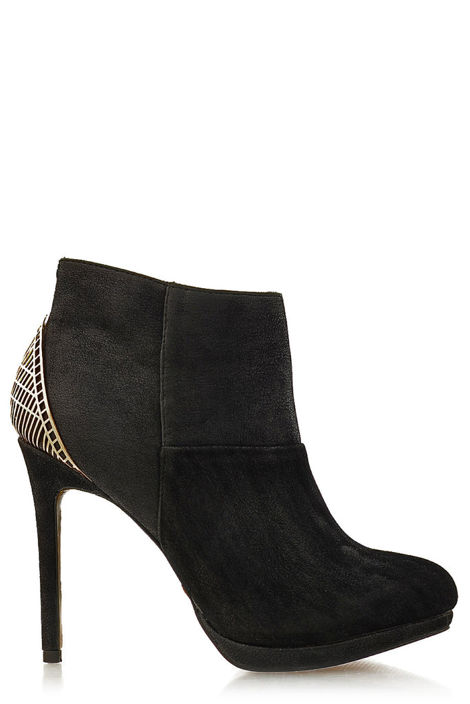 BLINK ADDIEN Black Suede Ankle Boots