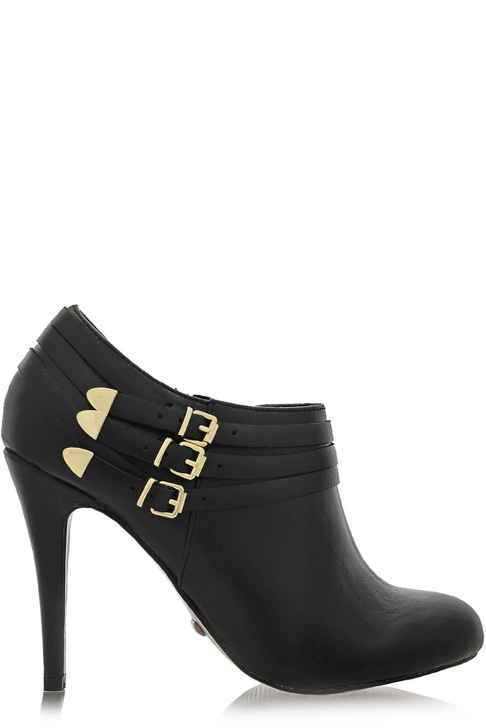 BLINK - CHELSEY Black Ankle Boots - Women Shoes