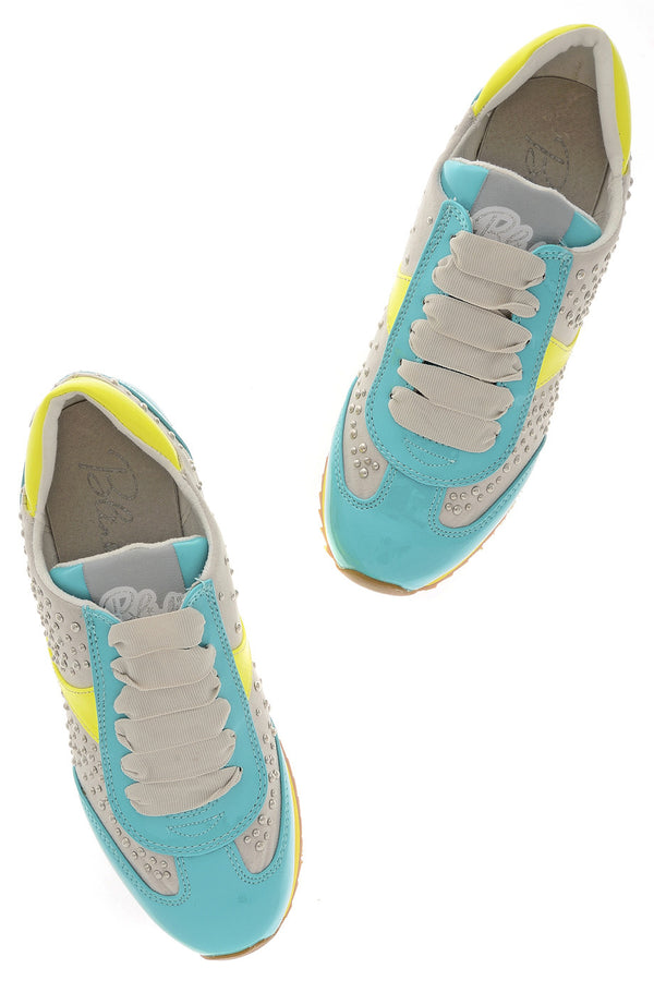 BLINK MARTINA Turquoise Fluo Sneakers