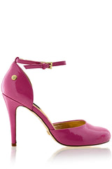 BLINK PARIS Pink Ankle Strap Sandals
