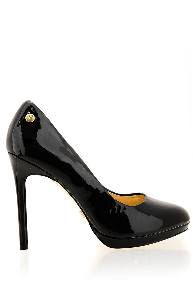 BLINK BEROQUETE Black Patent Pumps