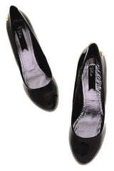 BLINK ALEYSIA Black Patent Pumps