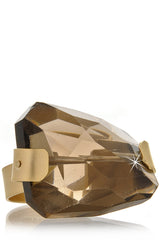 BY THE STONES SMOKY Topaz Gold Ring