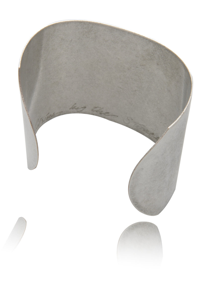 BY THE STONES WONDER WOMAN Silver Oxidized Cuff Bracelet