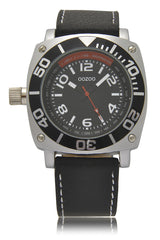 C2281 Black Leather Watch