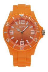 C4287 Orange Fluo Silicone Watch