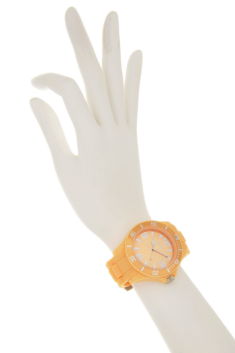 SOFT SALMON Silicone Watch