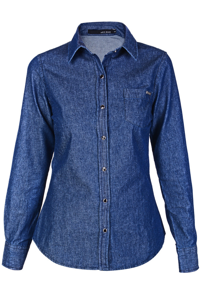 CARLOS MIELE DENIM Intermediate Wash Shirt
