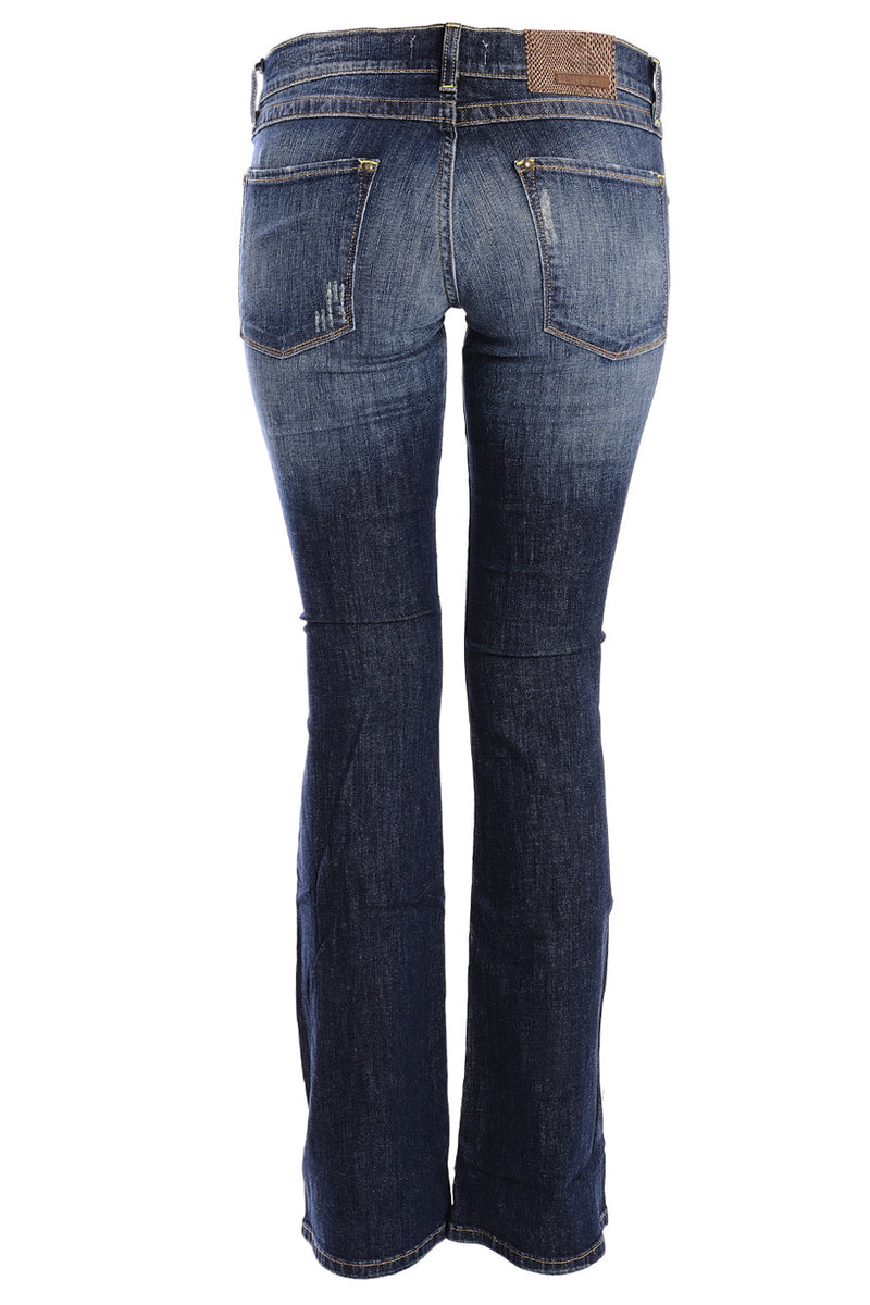 CARLOS MIELE DARK BLUE Flared Jeans