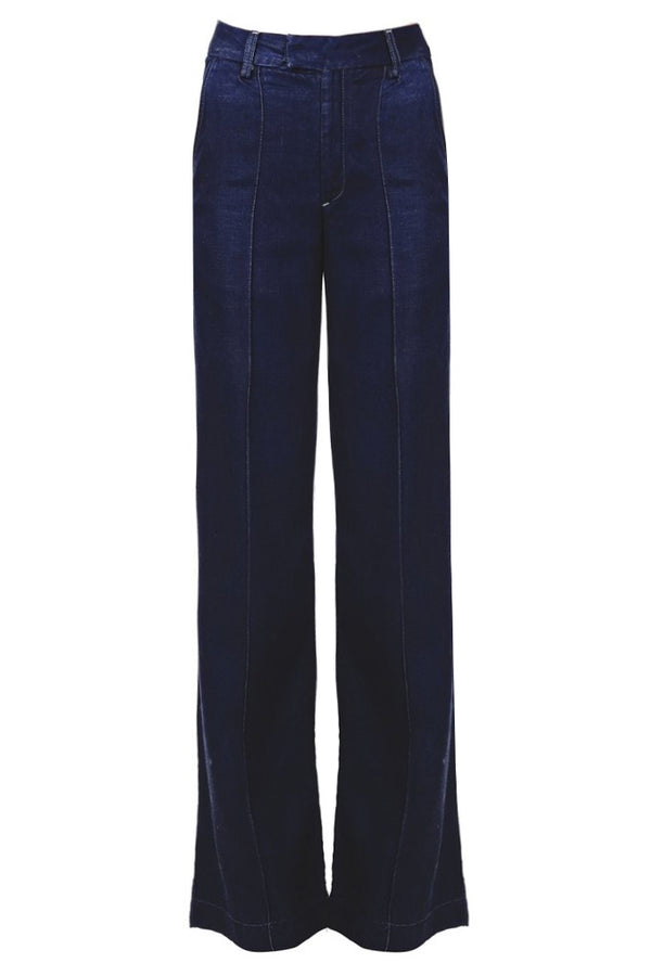 CARLOS MIELE DARK DENIM Wide Pants