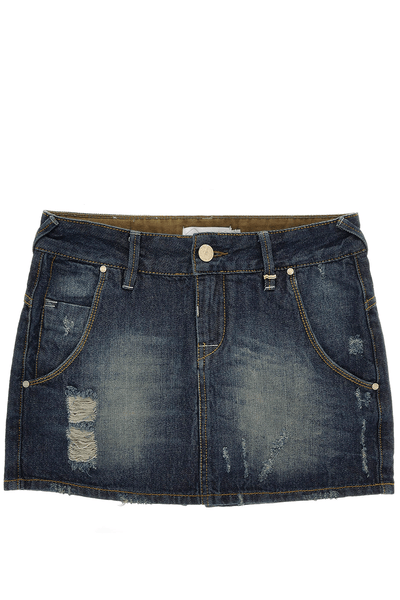 CARLOS MIELE DENIM Mini Skirt