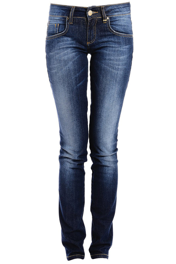 CARLOS MIELE FADED Dark Blue Jeans