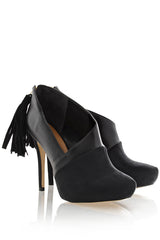 CECCONELLO BERTHA Black Leather Pumps