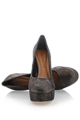 CECCONELLO EVLIN Bronze Platform Pumps