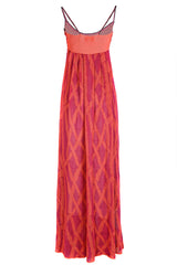 CECILIA PRADO ELEM Fuchsia Knitted Dress